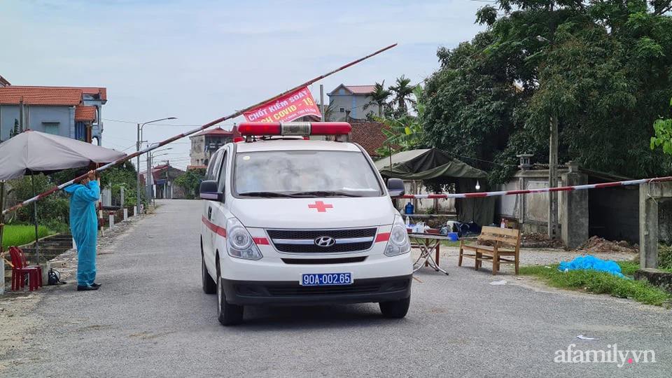Các chốt kiểm soát y tế tại Hà Nam