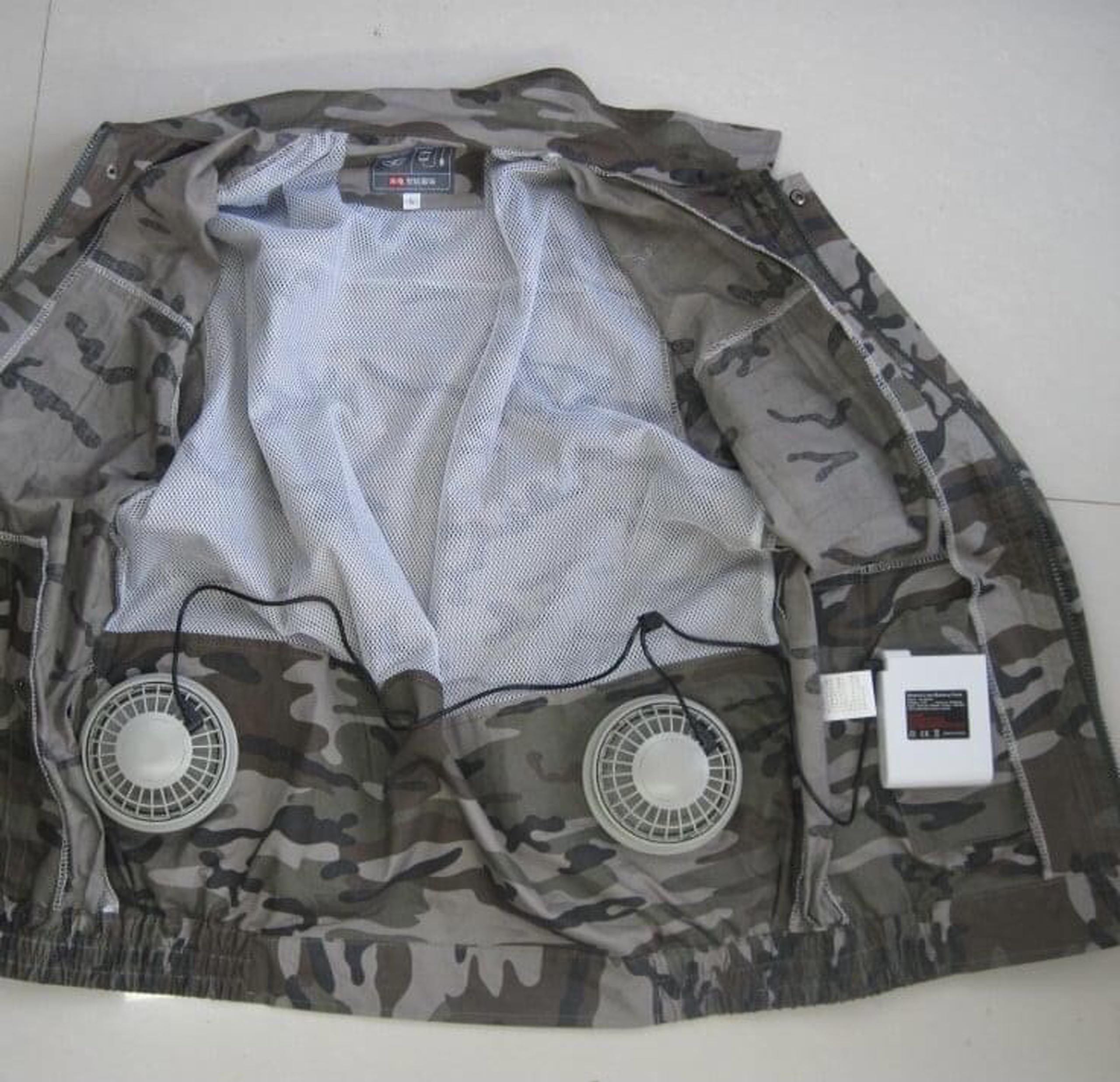"""Bỏ tiền triệu mua áo gắn điều hòa """"hạ nhiệt"""" nắng nóng như thiêu đốt - Ảnh 1."""