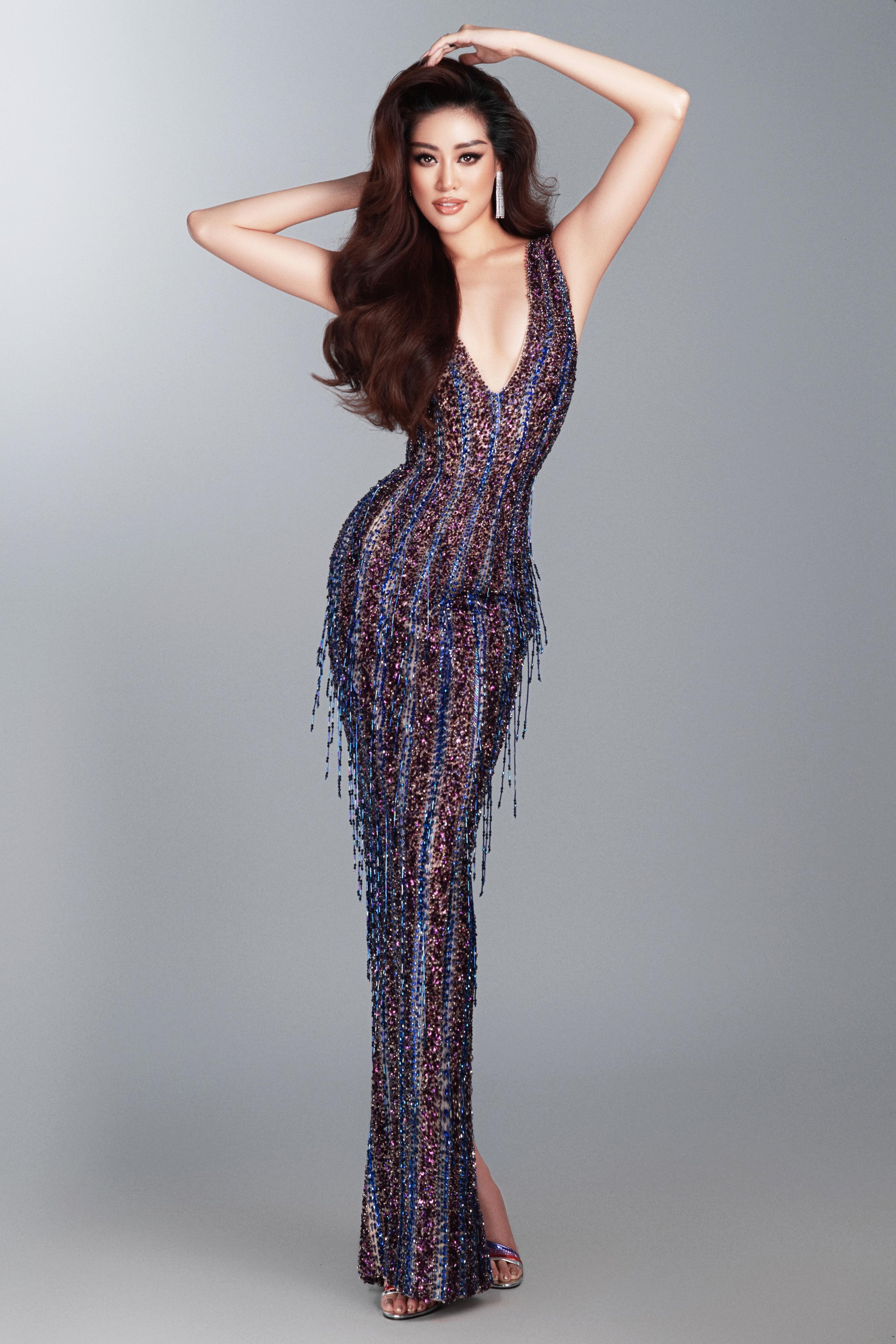 Khánh Vân hé lộ trang phục dạ hội nóng bỏng trước thềm bán kết Miss Universe 2020 - Ảnh 7.