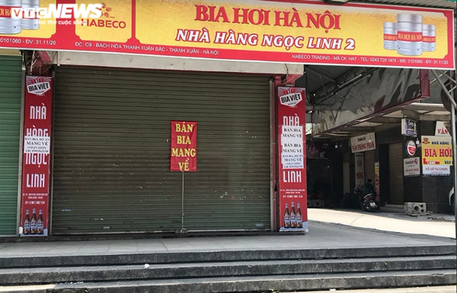 Cận cảnh loạt quán bia lớn ở Hà Nội 'vườn không nhà trống' giữa mùa hốt bạc - Ảnh 18.