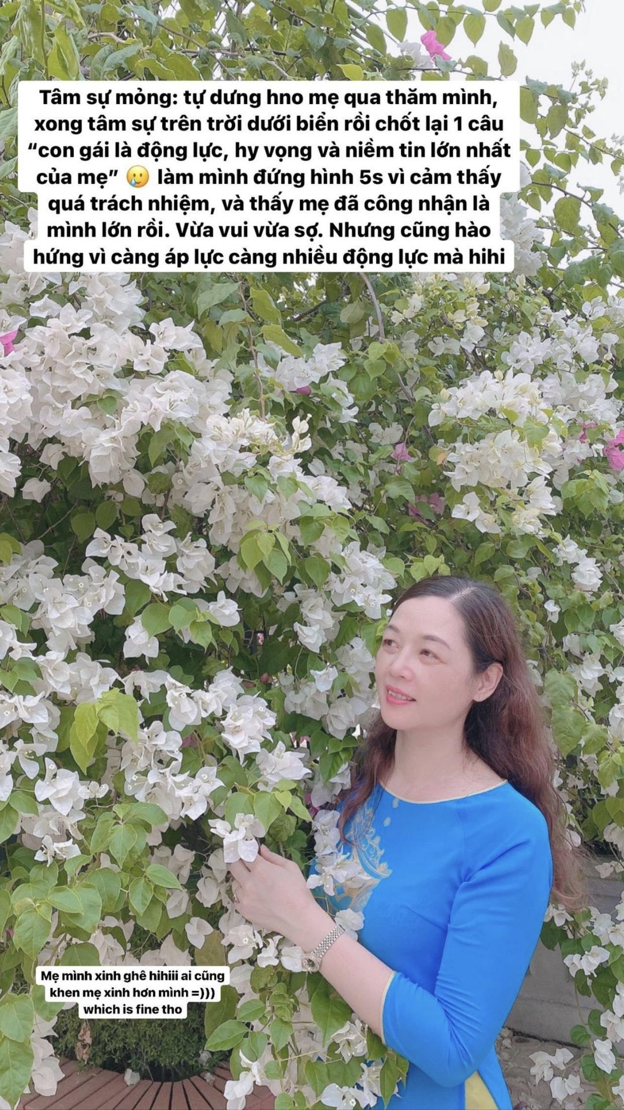 Mẹ Hoa hậu Lương Thùy Linh dặn nàng Hậu 1 câu mà đứa học trò nào nghe cũng đồng cảm - Ảnh 2.