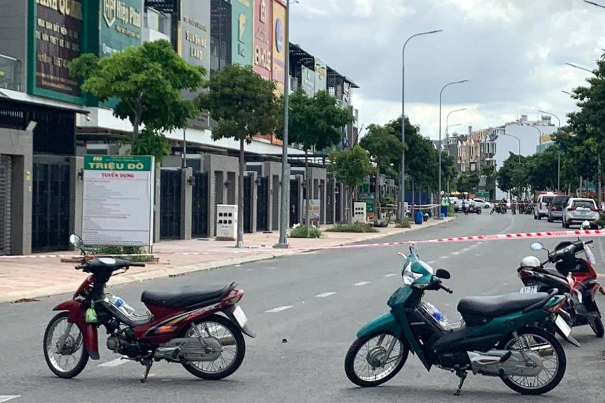 Hai người chết, một bị thương trong văn phòng công ty bất động sản - Ảnh 2.