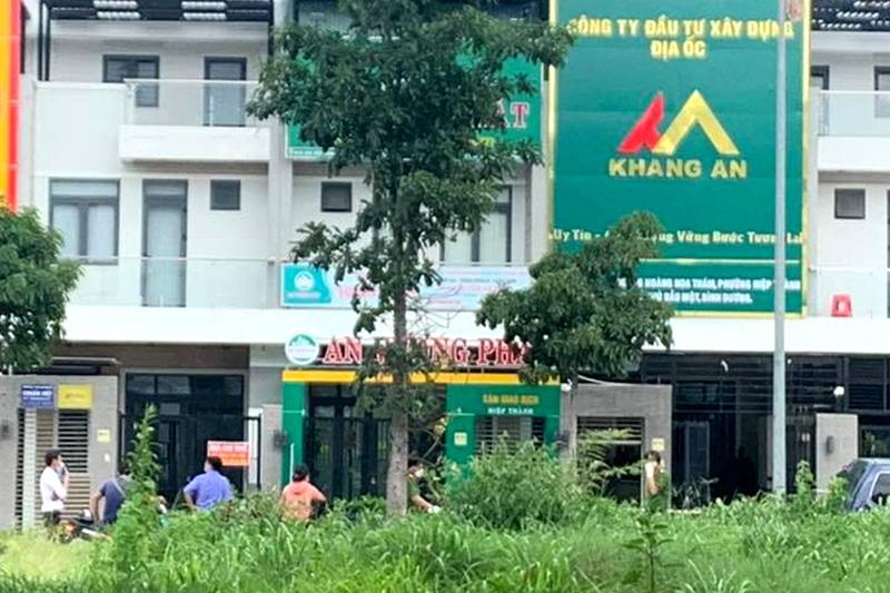 Hai người chết, một bị thương trong văn phòng công ty bất động sản - Ảnh 1.