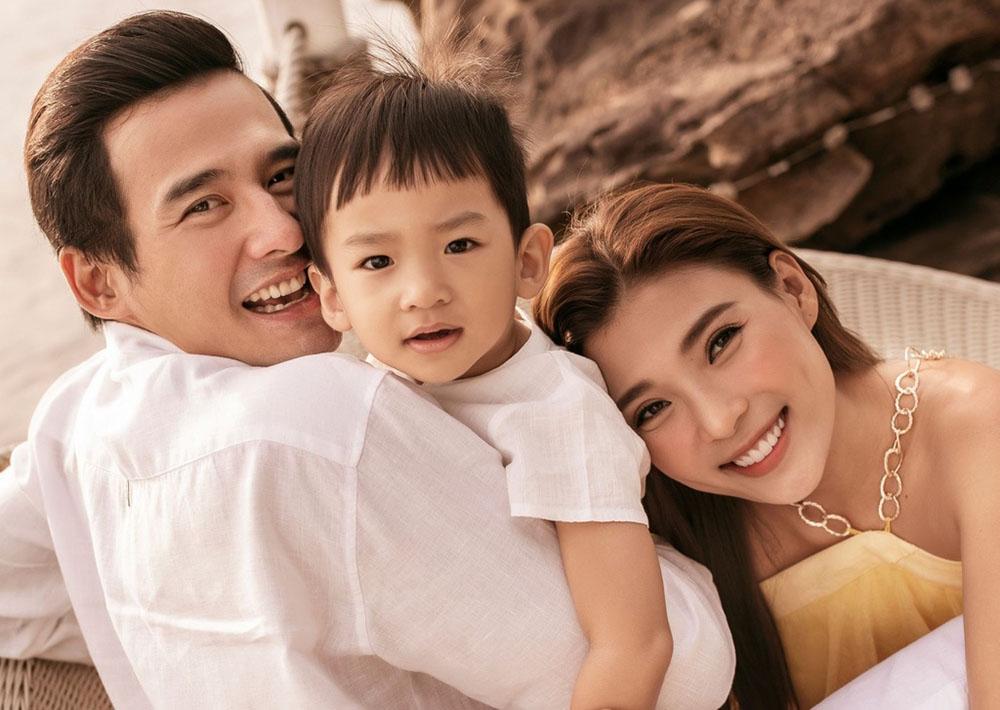 Bất ngờ vẻ vạm vỡ tuổi U40 của Lương Thế Thành qua hình ảnh chụp lén của vợ - Ảnh 6.