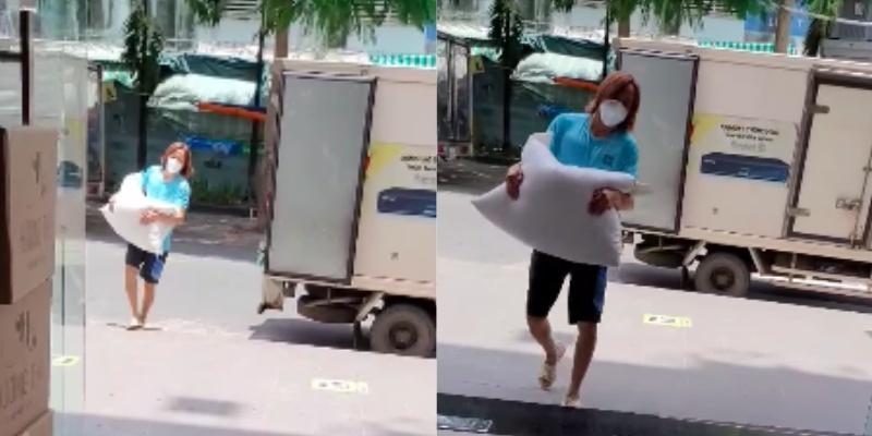 Việt Hương: Chân chồng tôi sưng quá, mưng mủ nhiễm trùng, đi không nổi nên nằm một chỗ rồi - Ảnh 4.