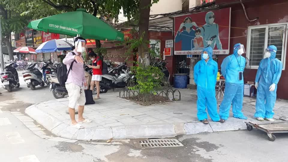 """""""Điểm nóng"""" Thanh Xuân Trung trước ngày đón công dân trở về - Ảnh 1."""