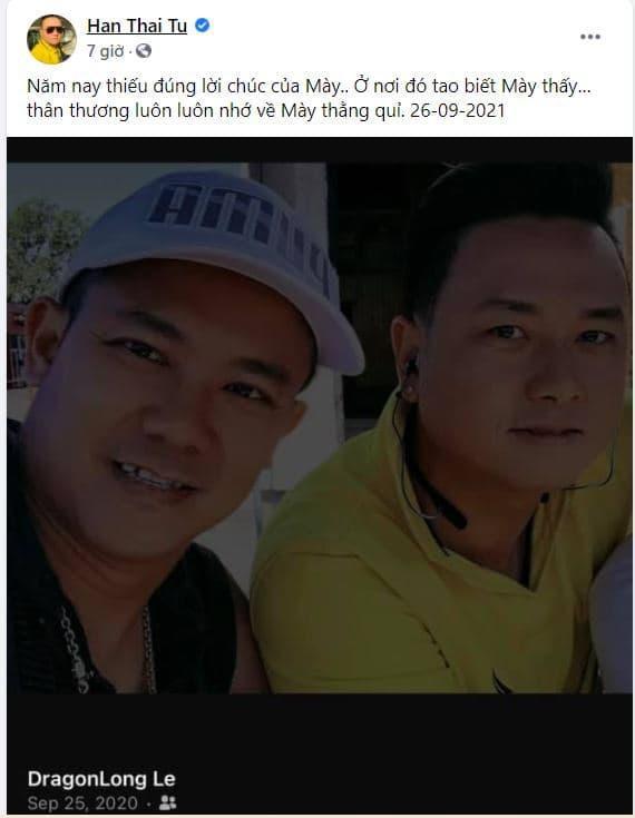 Sinh nhật Vân Quang Long: Hàn Thái Tú, Lâm Vũ nghẹn ngào thương nhớ  - Ảnh 2.