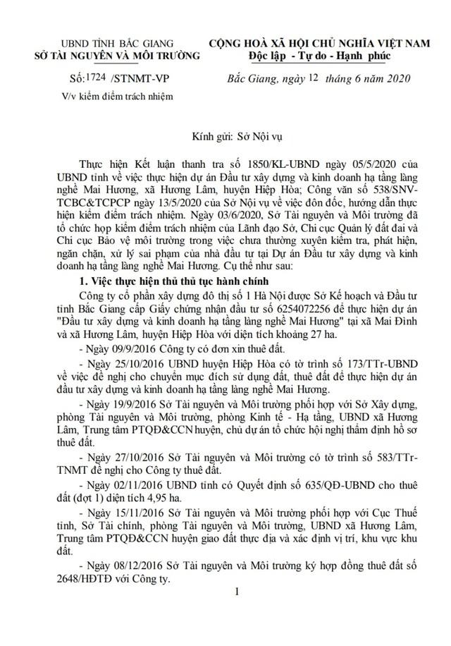 Sau Kết luận thanh tra về dự án làng nghề Mai Hương: Chi cục trưởng Chi cục Quản lý đất đai sẽ phải chịu trách nhiệm gì? - Ảnh 6.