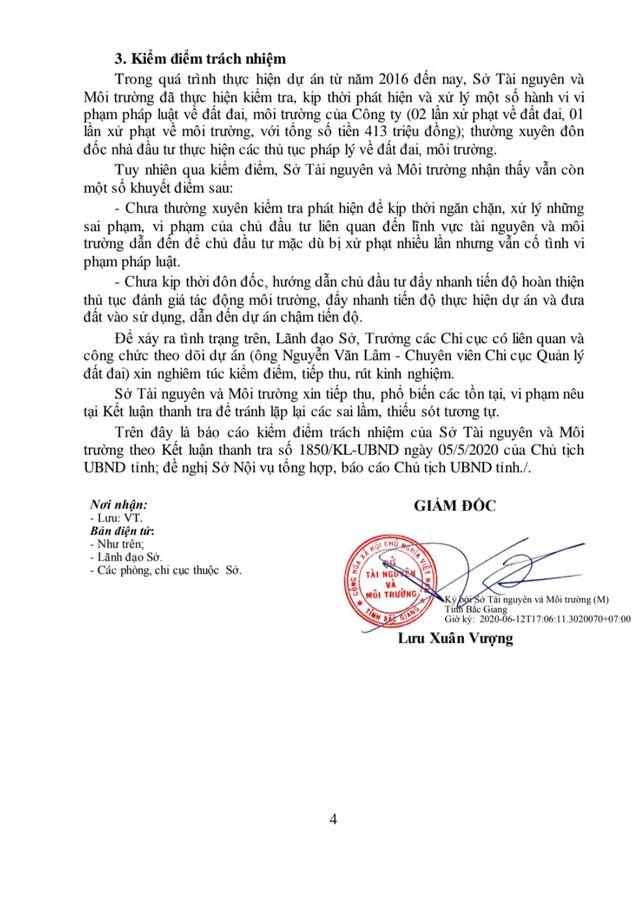 Sau Kết luận thanh tra về dự án làng nghề Mai Hương: Chi cục trưởng Chi cục Quản lý đất đai sẽ phải chịu trách nhiệm gì? - Ảnh 7.