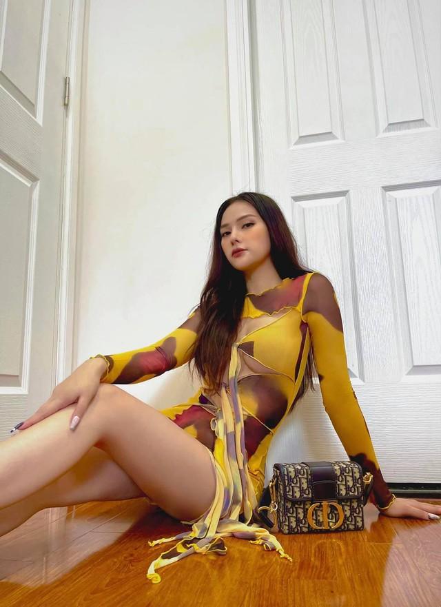 Minh Tú hóa cô dâu lộng lẫy, Thúy Vân dẹp tựa nàng thơ khi diện áo dài vàng rực rỡ - Ảnh 4.