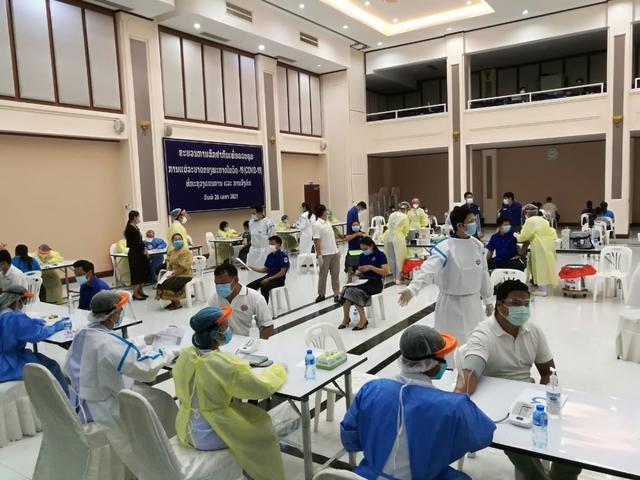 Chuyên gia y tế Việt Nam nỗ lực hỗ trợ Lào phòng, chống dịch COVID-19 - Ảnh 1.