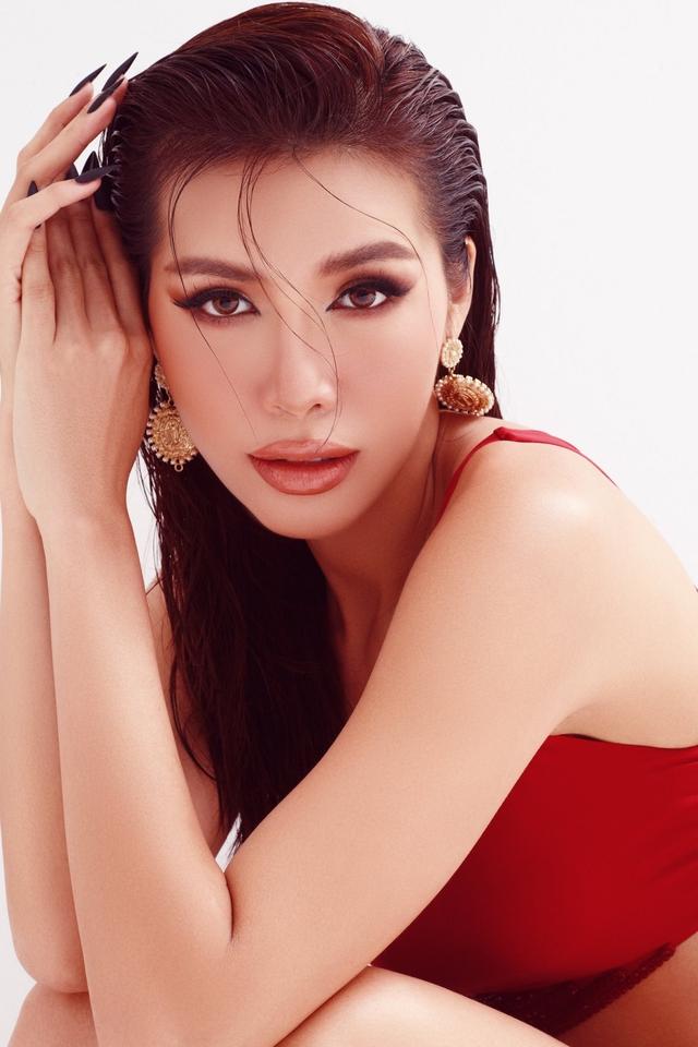 Diễm My tung bộ ảnh cực hút mắt, Khánh Vân đẹp dịu dàng khi diện áo dài - Ảnh 5.