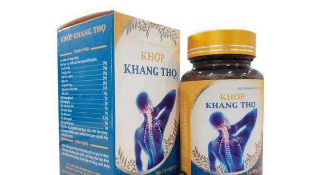 Cục ATTP cảnh báo thông tin quảng cáo về TPBVSK Khớp Khang Thọ - Ảnh 1.