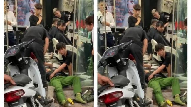 Nguyên nhân ô tô tông trọng thương chiến sĩ cảnh sát - Ảnh 1.
