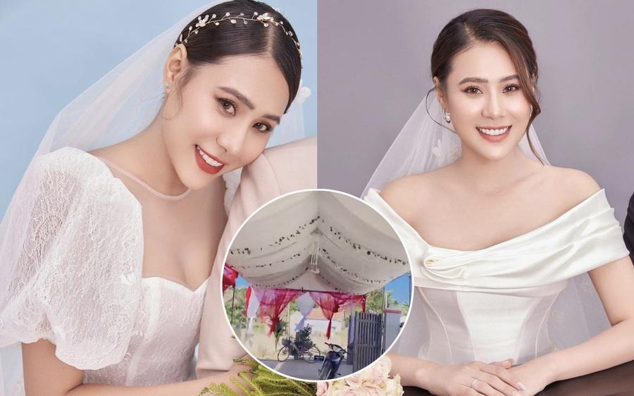 Hồ Bích Trâm hé lộ không gian tiệc cưới ở Quảng Ngãi, diễn viên nổi tiếng Vbiz chuẩn bị hôn lễ ra sao?