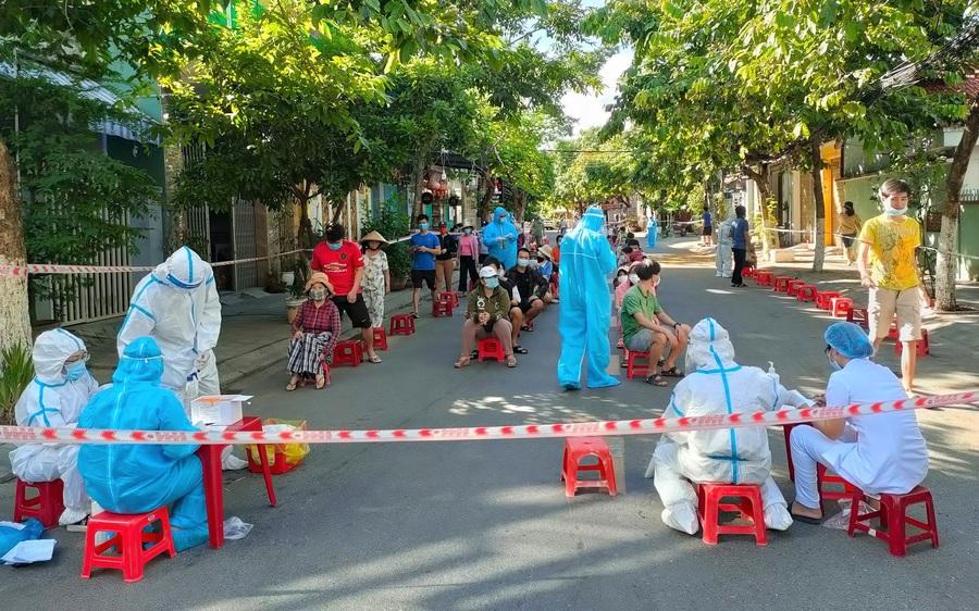 Đà Nẵng thêm 77 ca Covid-19, riêng chuỗi lây nhiễm cảng cá Thọ Quang có 60 F0