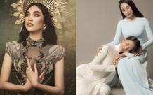 Lan Khuê hóa nữ thần quyến rũ, Tiểu Vy khoe sắc cùng mẹ trong bộ ảnh mới