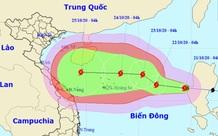 Bão số 8 dự báo liên tục tăng cấp hướng vào miền Trung, mưa trên diện rộng