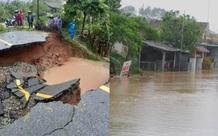 Hà Tĩnh: Nhiều tuyến đường bị đứt gãy, hàng nghìn người dân vẫn bị cô lập