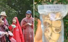 """Cô sinh viên tự làm 20kg bánh chả gửi cho đồng bào miền Trung: """"em không có nhiều tiền chứ sức thì em dư"""""""