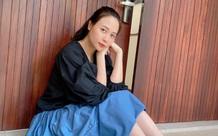 """Đàm Thu Trang khoe nhan sắc ngọt ngào của """"gái một con"""""""