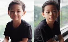 """Con trai Trà My Idol """"gây sốt"""" mạng xã hội vì vẻ ngoài nam thần dù mới 6 tuổi"""