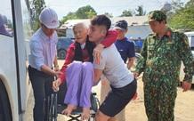 Quảng Ngãi: Di dời 5.000 người dân tại khu vực nguy hiểm tránh bão số 9