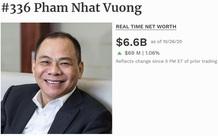 Tài sản của ông Phạm Nhật Vượng tăng 1 tỷ USD sau 6 tháng