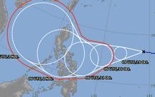 """Bão số 9 """"cuồng phong"""" còn đang suy yếu, lại xuất hiện thêm áp thấp nhiệt đới có khả năng hình thành bão số 10"""