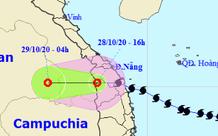 Bão số 9 suy yếu thành áp thấp nhiệt đới, tâm áp thấp đang ra khỏi nước ta