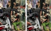 Xác định nguyên nhân ô tô tông trọng thương chiến sĩ công an