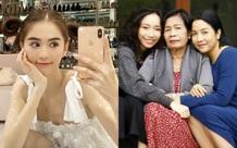 Ngọc Trinh khoe nhan sắc hack tuổi, Mỹ Linh đăng ảnh chụp '3 thế hệ' trong nhà