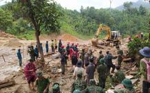 Thêm 1 vụ sạt lở ở Quảng Nam, 1 người mất tích