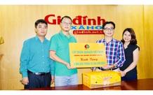 Tập đoàn DABACO đồng hành cùng Báo GĐ&XH ủng hộ 5.000 quả trứng ăn liền cho đồng bào Miền Trung