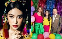 Hoàng Thùy Linh gây sốt với loạt ảnh hậu trường, Trương Ngọc Ánh  - Trần Bảo Sơn mở tiệc sinh nhật cho con gái