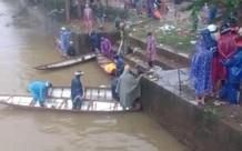 Xe máy lao xuống sông, một thanh niên tử vong thương tâm