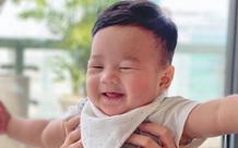 Mê mệt trước loạt khoảnh khắc không thể đáng yêu hơn của con trai Đặng Thu Thảo