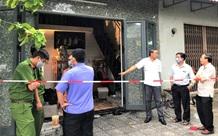 Đà Nẵng: Cháy nhà trong bão, 2 cha con bị thương nặng