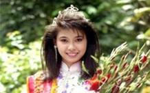 """Khoảnh khắc Hà Kiều Anh mặc áo tắm đăng quang ngôi vị Hoa hậu Việt Nam cách đây 28 năm """"hot"""" trở lại"""