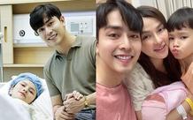 Khoe khoảnh khắc cả gia đình hạnh phúc bên con gái, nhan sắc mới sinh con của Thu Thủy đặc biệt gây chú ý