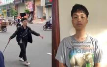 Hà Nội: Tạm giữ hình sự nam thanh niên 17 tuổi đập phá xe máy trên đường Trường Chinh sau va chạm với bà bầu