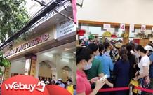 Tiệm bánh Trung thu nổi tiếng ở Hải Phòng chen chúc người mua như thời bao cấp, đông đến mức phải có công an dẹp đường
