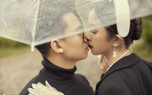 Ngắm bộ ảnh cưới của Á Hậu Thúy An và bạn trai hơn 10 tuổi: Cô dâu cực thần thái sang chảnh, chú rể điển trai phong độ