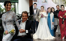 Hồng Nhung công khai sánh đôi bên bạn trai ngoại quốc, bạn trai bác sĩ có mặt trong đám cưới con gái Thanh Lam