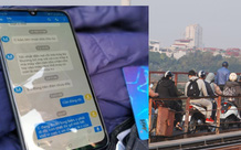 """Hà Nội: Nam thanh niên nhắn tin cho mẹ """"con chết thì gia đình mới hết khổ"""" rồi nhảy cầu Long Biên tự tử"""