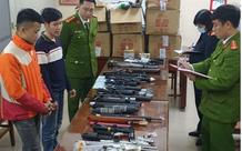 Bắt ổ nhóm sản xuất súng, thu giữ 10.000 viên đạn