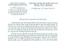 Sở GDĐT tỉnh Cao Bằng nói gì trước thông tin nhiều gói thầu có giá cao hơn thị trường?