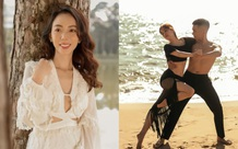Thu Trang khoe nhan sắc mặn mà, Khánh Thi - Phan Hiển khiêu vũ bên bờ biển