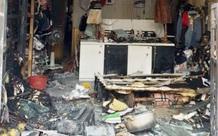 Người phụ nữ bị chồng hờ khóa cửa, tạt xăng đốt đã tử vong