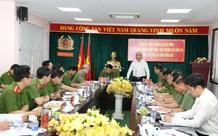 Thứ trưởng Bộ Công an Lê Quốc Hùng thăm và làm việc tại Công an Đồng Nai